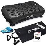 「2020 最新版」 SYOSIN 振動マシン ぶるぶるマシン 振動調節99段階 音楽プレイヤー機能付 有酸素 運動 体幹強化 Miniサイズ 軽い 静音