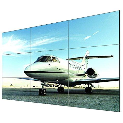LG 55LV35A-5B Videowall LED 139,7cm 55Zoll LFD 500cd 1.400:1 HDCP 1920x1080 12ms HDMI DVI-D VGA RS232 RJ45 500000:1 schwarz