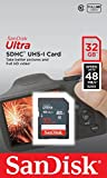 Sandisk 32GB Ultra SDHC Memory Card For Canon EOS 700D Camera