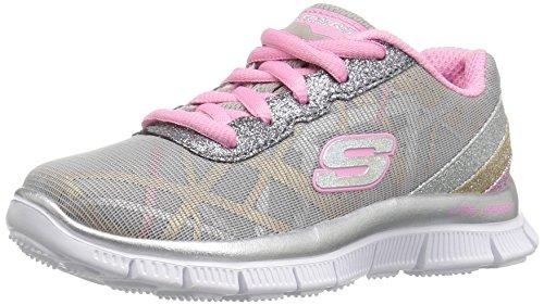 Skechers Mädchen Skech Appeal-Gimme Glimmer Sneakers, Grau (gymt), 35 EU