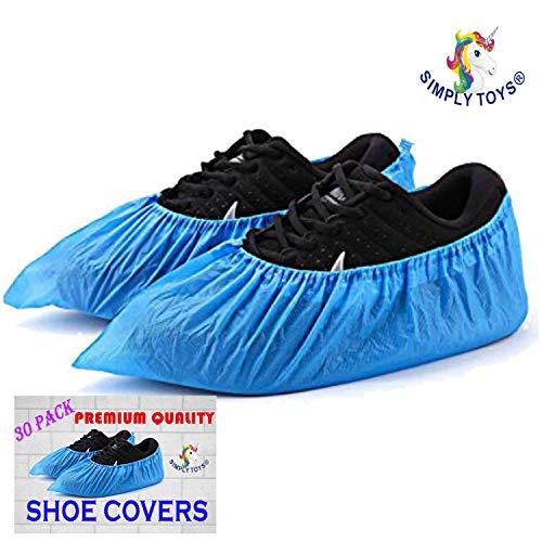 30 Confezione di BLU MONOUSO Copriscarpe per scarpe e stivali a Protect TAPPETI & pavimenti. PULIZIA ACCESSORI Powered da TheChemicalHut
