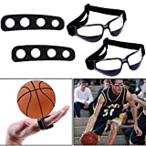 Best Basketball Shooting Aid & Dribble Training Goggles Set - Smart Basketball Shot Trainer Aids for Youth and Adults - Dribble Goggles and Shooter Trainer Equipment for Kids - 3 Sizes (Medium)