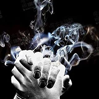 Enjoyer Magic Smoke from Finger Tips Magic Tricks Magic Smoke Papers Appearing Smoke Magic Gimmick Magician Props Stage Illusions (10Pcs)