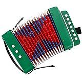 MILISTEN Niños Acordeón Teclado Instrumentos 7 Teclas Botones Control Mini Instrumentos Musicales para Niños Desarrollo de La Primera Infancia