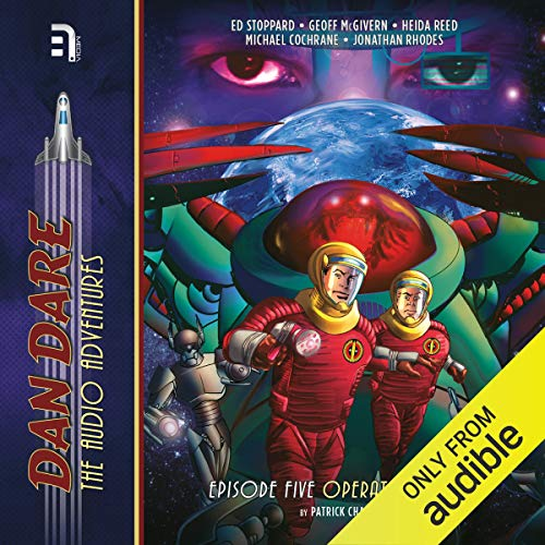 Dan Dare: Operation Saturn audiobook cover art