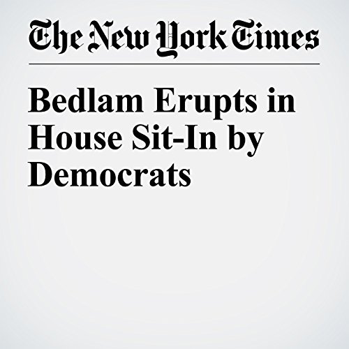Bedlam Erupts in House Sit-In by Democrats cover art