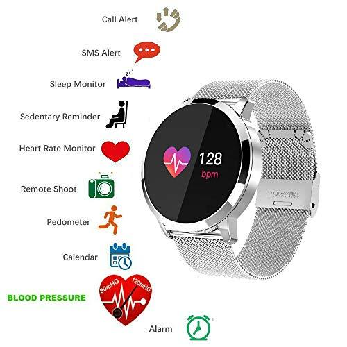 Smart Watch Bluetooth tkstar Smartwatch Sport Smart Armband Online Activity Tracker, wasserdicht, mit Touch Screen