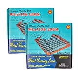 West Coast Paracord Classic Hobby Set Crafting Retro Kit Bundles (Weaving Loom Kits, 2 Pac...