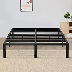 Olee Sleep 14-inch Non-Slip Support Bed Frame
