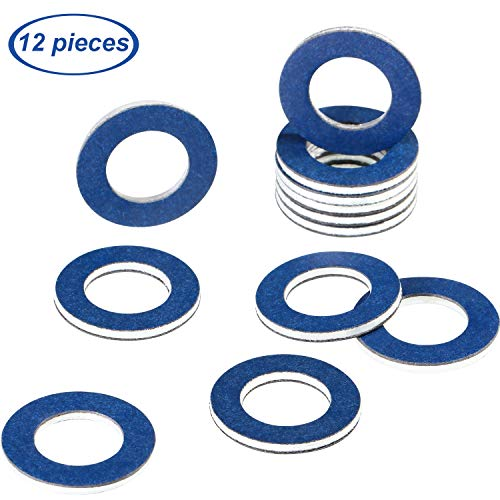 Prime Ave OEM Engine Oil Drain Plug Washer Gaskets For Subaru Part# 803916010 Pack of 15