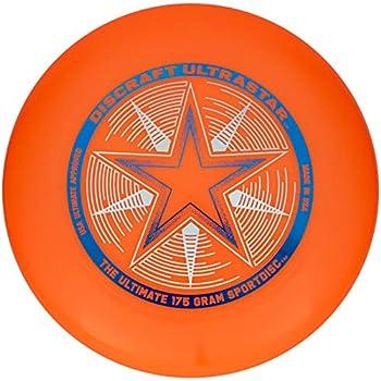 Discraft 175 gram Ultra Star Sport Disc Bright Orange