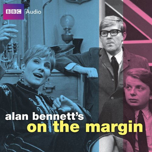 Alan Bennett's On the Margin audiobook cover art