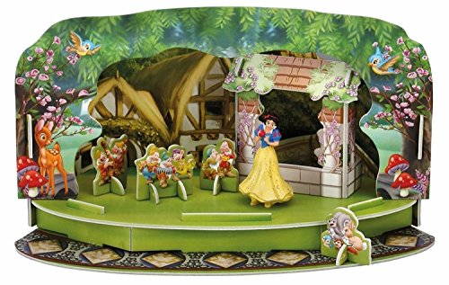Bullyland 11903 - Walt Disney Schneewittchen Magic Moments, Spielset, ca. 19,5 x 11,3 x 11 cm