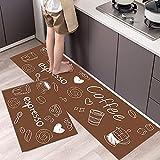 Alfombrillas de Cocina Antideslizantes largas de Dibujos Animados, alfombras de baño Modernas, alfombras para Puertas de Entrada al Aire Libre, alfombras Lavables NO.8 40X60cm y 40X120cm