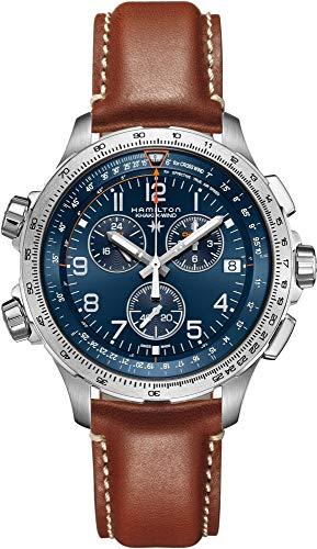Hamilton Khaki X-Wind GMT H77922541 - Cronógrafo para hombre