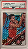 TRAE YOUNG Exclusive Basketball Card - Brand New 2019-20 Panini CHRONICLES (Short Printed GREEN Parallel) Basketball Card - Atlanta Hawks Collectible