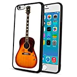 Cell Phone Case Fit iPhone 6s Plus (2015) & iPhone 6 Plus (2014) 5.5' Acoustic Gibson Guitar John Lennon