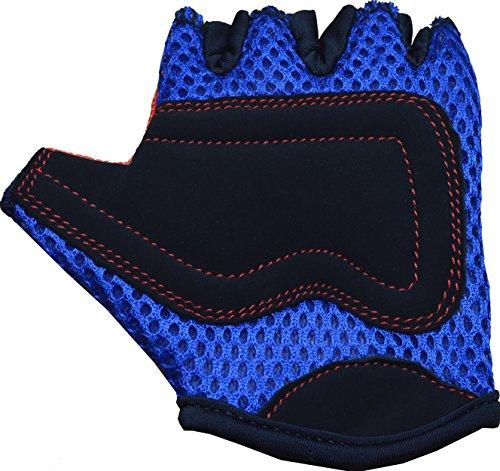 Kiddimoto GLV007S GLV007S-Handschuhe, Gr.S, 2-5 Jahre, orange, S - 4