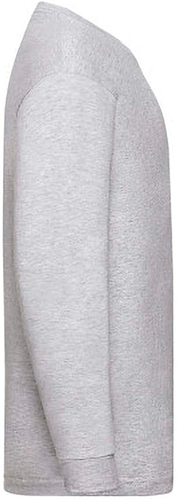 Fruit of the Loom Childrens/Kids Valueweight Long Sleeve T-Shirt (Pack of 2)