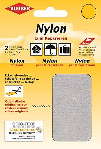 Kleiber + Co.GmbH Nylon-Flicken, hellgrau