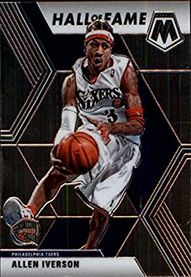 2019-20 Panini Mosaic #287 Allen Iverson Philadelphia 76ers NBA Basketball Card NM-MT