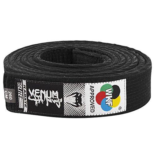 VENUM Karate Belt - Cinturón de Karate, Color Negro, 320 cm