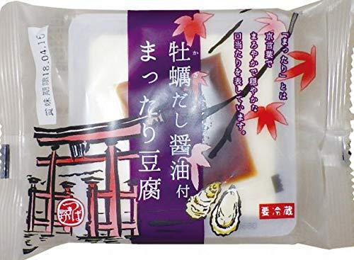 椿き家  まったり豆腐・牡蠣だし醤油付 とうふ 130g たれ7g  20個
