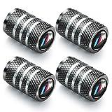 suitable for BMW M car tire valve stem cover-Heavy-duty wheel air cover car exterior accessories suitable for BMW M 1 3 5 7 series 320li 316i X1 X3 X4 X5 X6 tire valve stem cover gray