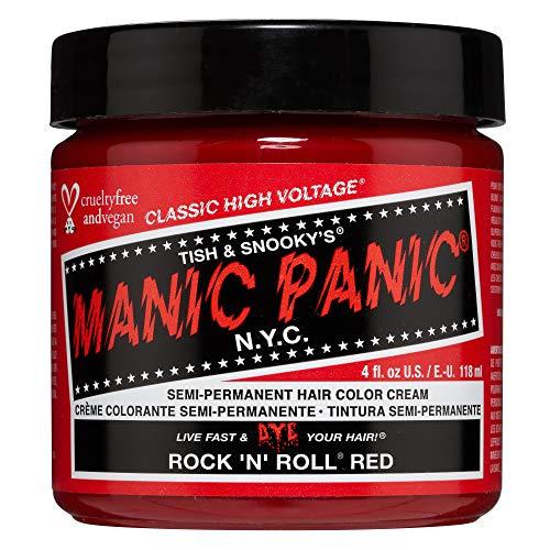 Manic Panic - Rock'N'Roll Red Classic Creme Vegan Cruelty Free Semi-Permanent Hair Colour 118ml
