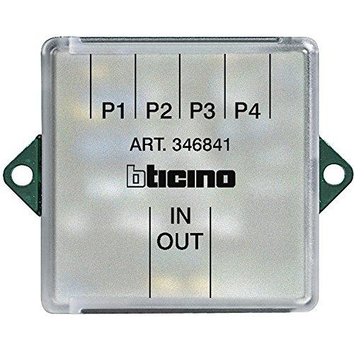Legrand Einbau-Video-Signalverteiler/Etagenverteiler 4-fach für 2-Draht Sprechanlagen., 346841
