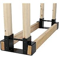 Sunnydaze Decor Firewood Log Rack Bracket Kit