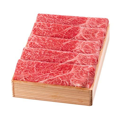 松阪まるよし 松阪牛 すき焼き用 肩・モモ 木箱入 贈答用 500g 牛肉 和牛 国産 冷凍 三重