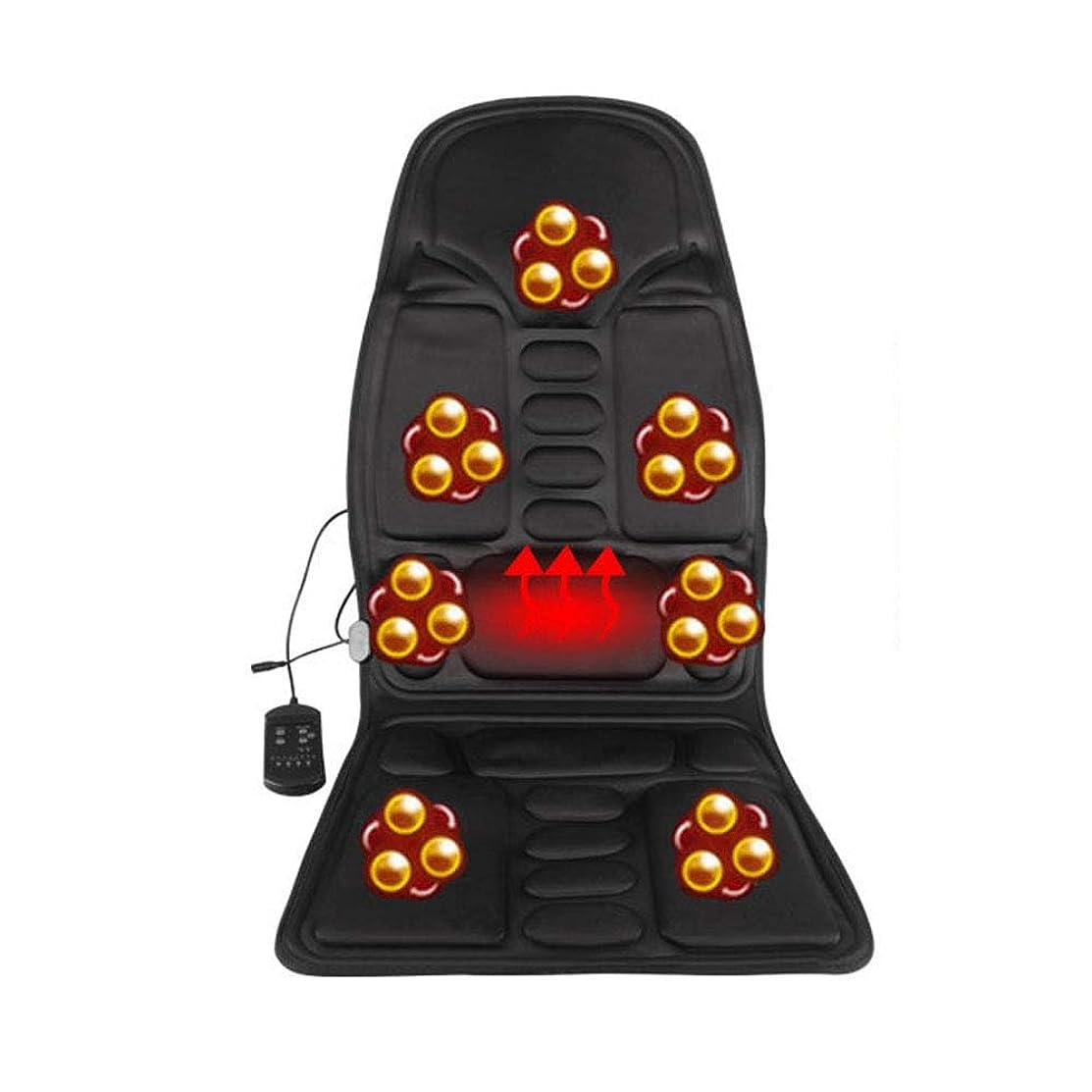 炎上集中キャプテンブライカーマッサージクッション振動マッサージチェアクッションネックウエスト全身機能