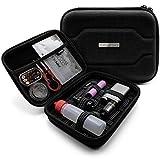 VapeHero® Funda para cigarrillos electrónicos con esterilla premium para extraer el vapor, funda para botellas líquidas y accesorios, apta para baterías grandes 18650 resistente a los golpes