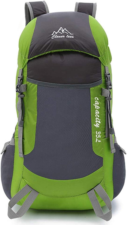 LQQ-BACKPACK Reiserucksack Wasserdicht Atmungsaktiv Trekking Wandern Wandern Wandern Bergsteigen Klettern Camping Rucksack für Männer Frauen (35L) B07JGK9KX1  Am praktischsten c23c28
