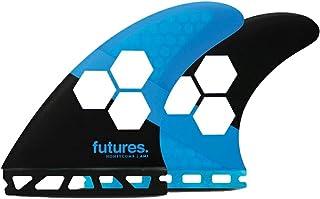 FUTURES FINS(フューチャーズフィンシステム) アルメリック チャンネル アイランドスリー ヘキサライト 3本セット RTM HEX 2.0 FAM1/BlueBlack