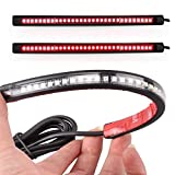 36 LED Turn Signal Brake Stop Integrated Tail Light Strip for Universal Motorcycle by Heart Horse