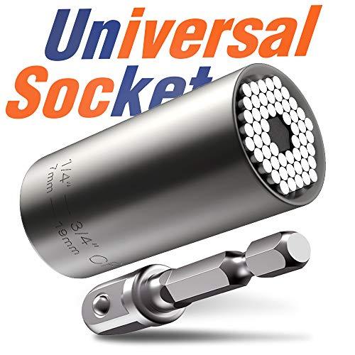 Universal Llave de Vaso Herramienta de Bricolaje - 7-19 mm
