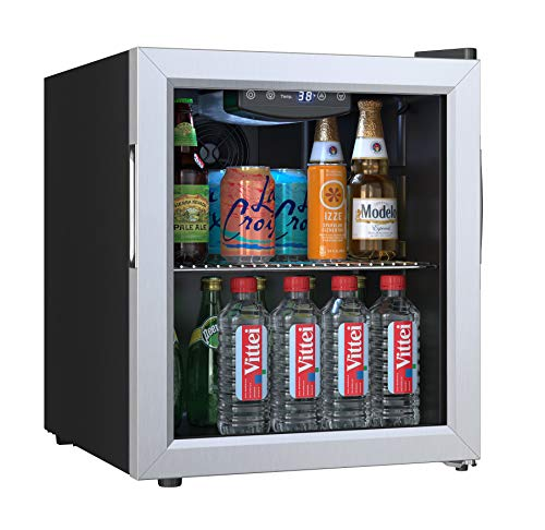 EdgeStar BWC71SS 18 Inch Wide 52 Can Capacity Extreme Cool Beverage Center