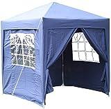 Airwave Pop-Up-Pavillon, 2 x 2 m, blau