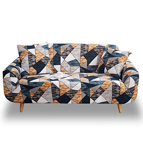 HOTNIU Gedrukte zitbank bankovertrekken sofa bescherming elastische slipcover