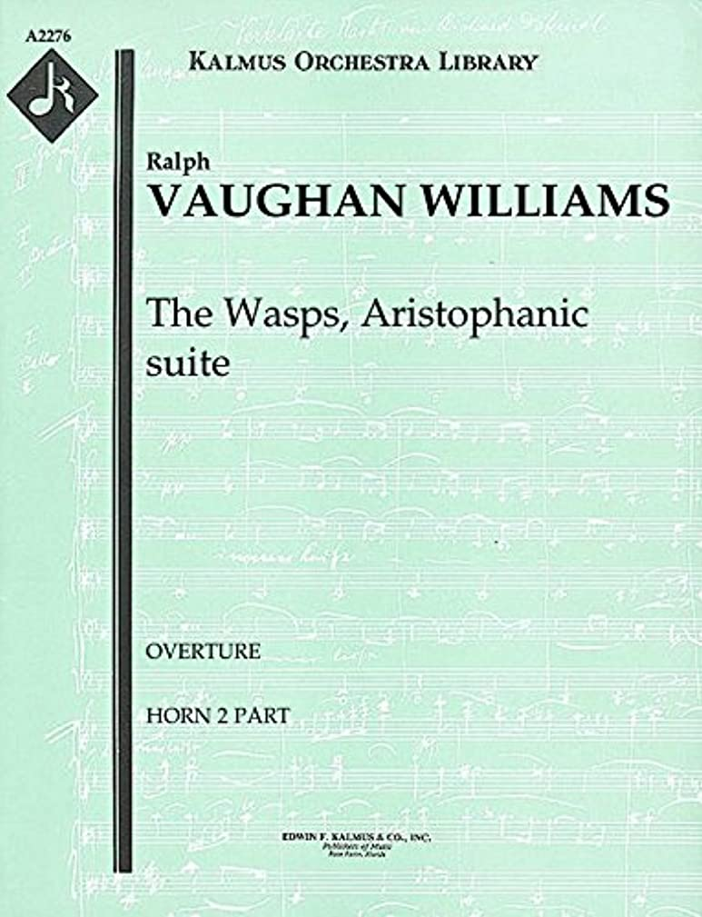 The Wasps, Aristophanic suite (Overture): Horn 2 part (Qty 3) [A2276]