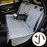 iBuddy Bench Car Seat Cover for Car/SUV/Small Truck, Waterproof Back Seat Cover for Kids Without Smell, Heavy Duty and Nonslip Pet Car Seat Cover for Dogs, Machine Washable