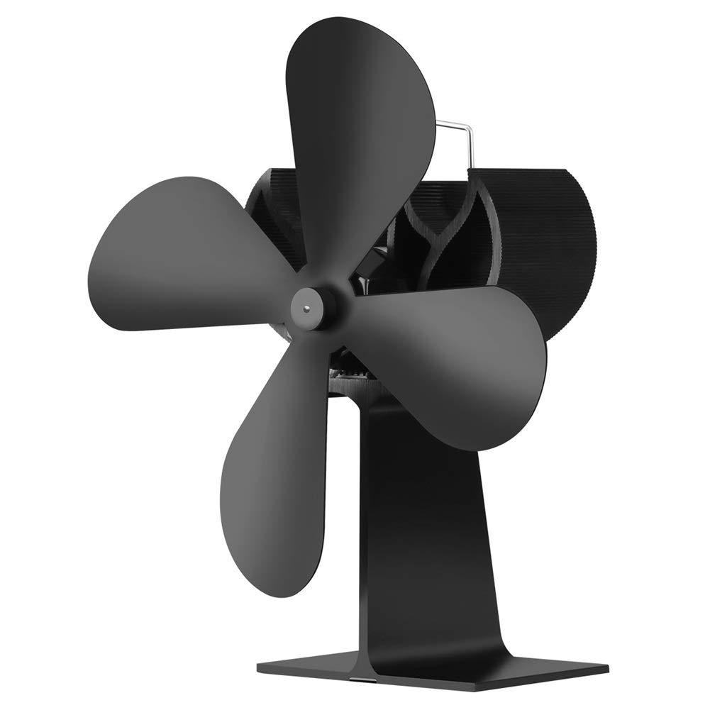 eiseyen metafood Ventilador para chimenea Negro y sin ruido ...