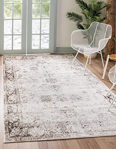 Unique Loom Sofia Collection Area Traditional Vintage Rug, French...