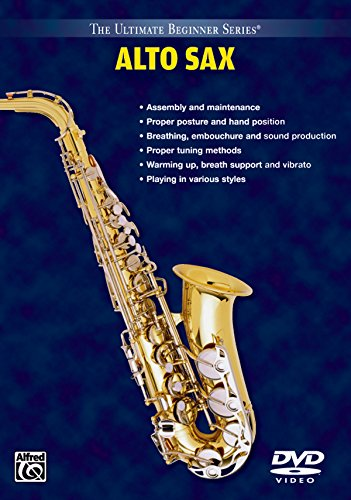 Ultimate Beginner Series, Alto Saxophone