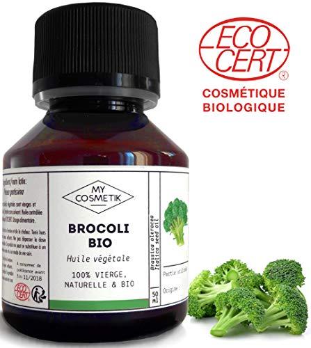 Plantaardige olie van Broccoli BIO Cosmetisch - MyCosmetik - 50 ml