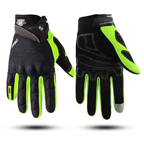 Mabor Guantes de motocicleta, guantes de moto para hombres y mujeres, para todas las estaciones, guantes de carreras de motocicleta, impermeables, con pantalla táctil, guantes para BMX ATV MTB