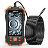 Industrial Endoscope, Inspection Camera - 1080P HD 4.3inch LCD Screen IP67 Waterproof Borescope