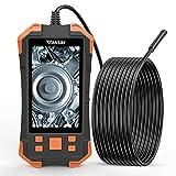 Vastar Inspektionskamera, 3000 mAh, HDKameraauflösung, 4,3 Zoll IPS-Farb-LCD-Monitor...